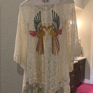Judith March cream kimono